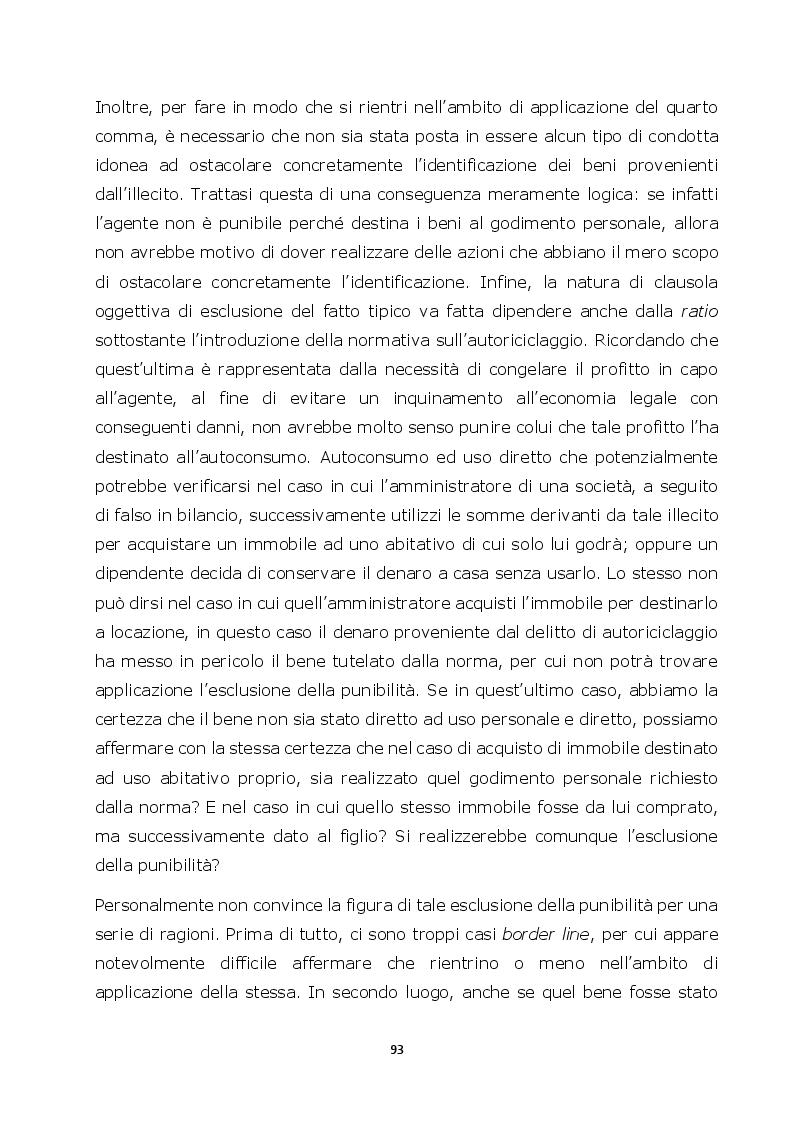Anteprima della tesi: Autoriciclaggio e art. 25-octies D.lgs. 231/2001: come varia il principio di legalità, Pagina 5