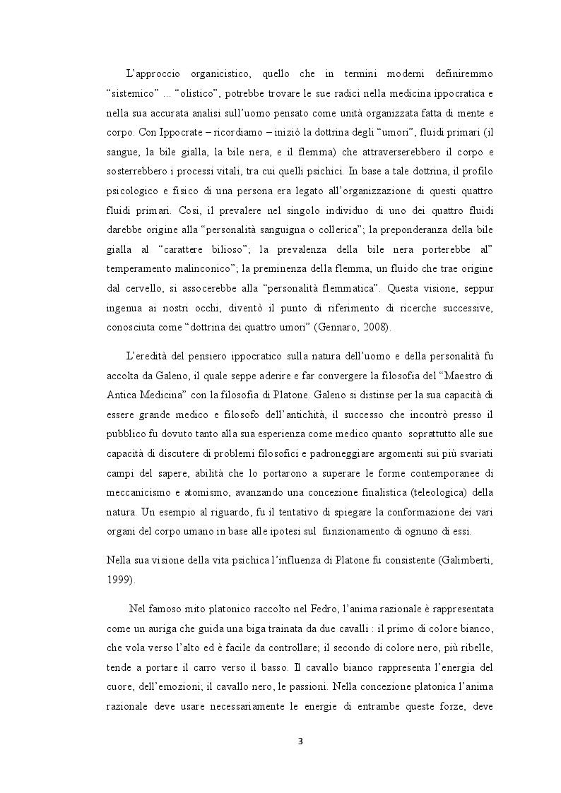Anteprima della tesi: I Meccanismi di Difesa nella diagnosi psicologica attuale, Pagina 8