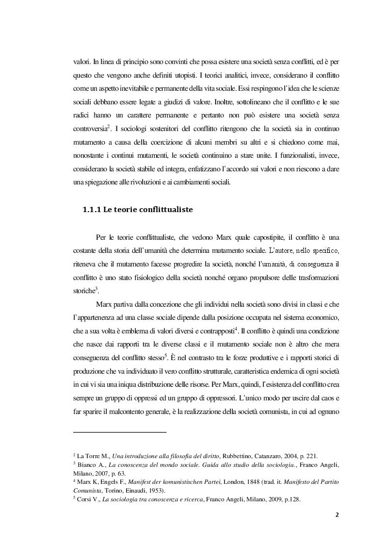 Anteprima della tesi: La Mediazione nei conflitti familiari, Pagina 3