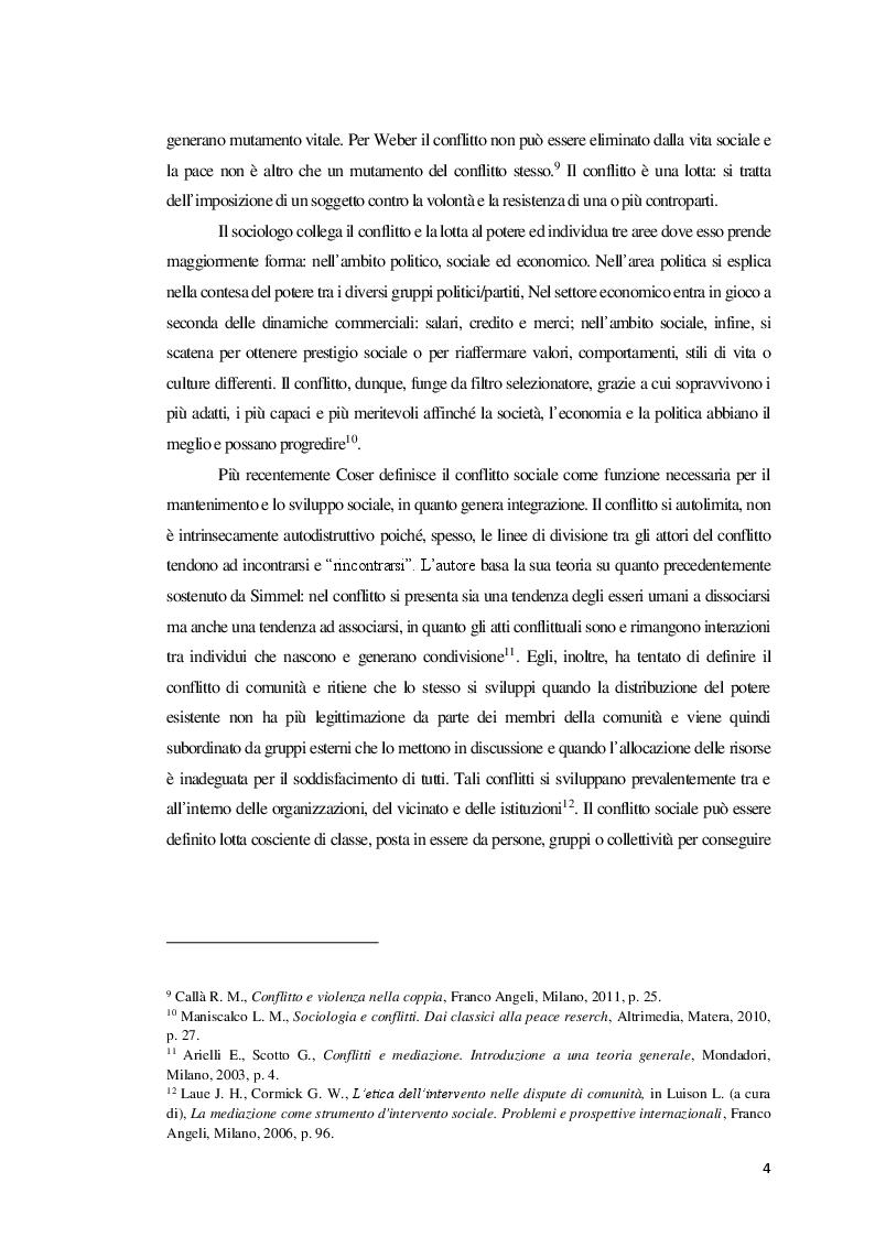 Anteprima della tesi: La Mediazione nei conflitti familiari, Pagina 5