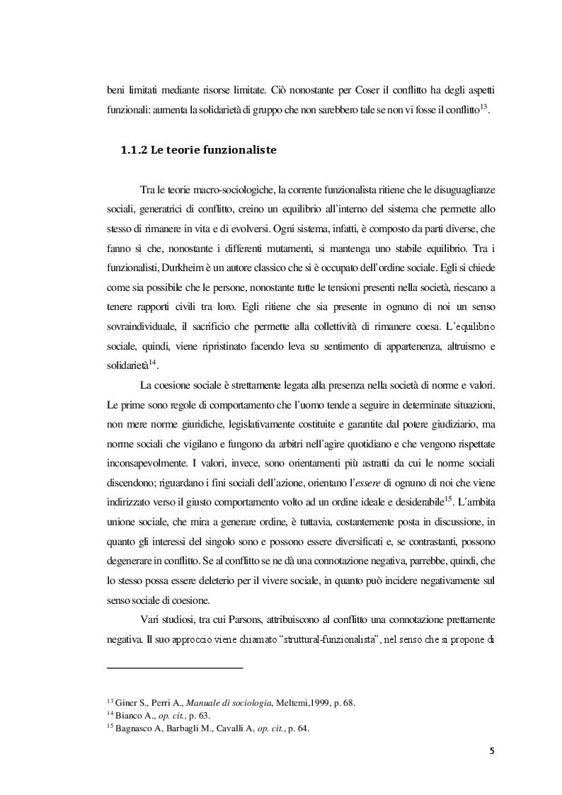 Anteprima della tesi: La Mediazione nei conflitti familiari, Pagina 6