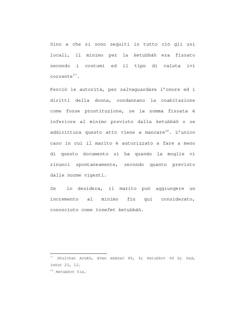 Anteprima della tesi: Il matrimonio nel diritto ebraico, Pagina 14