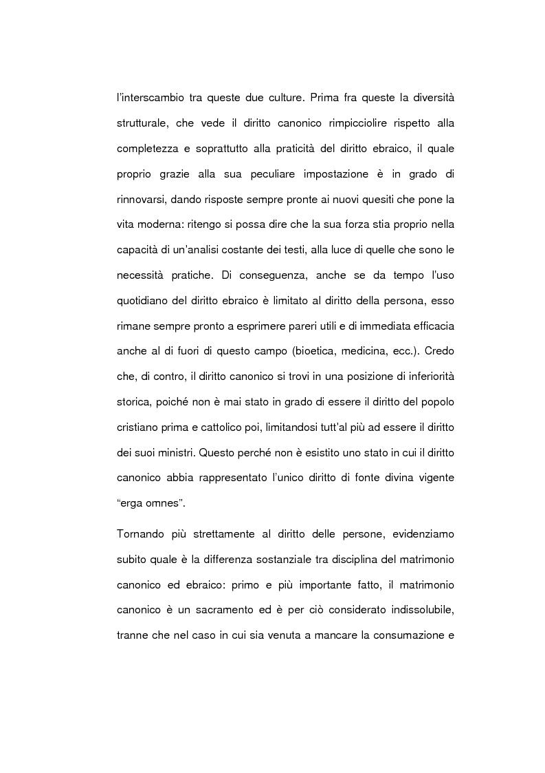 Anteprima della tesi: Il matrimonio nel diritto ebraico, Pagina 5
