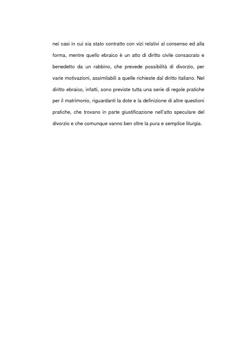 Anteprima della tesi: Il matrimonio nel diritto ebraico, Pagina 6