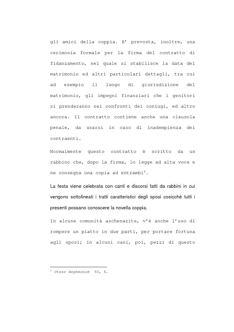 Anteprima della tesi: Il matrimonio nel diritto ebraico, Pagina 9