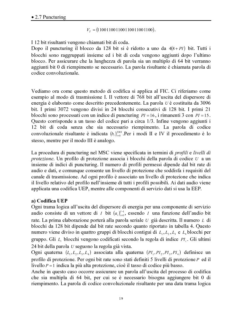Anteprima della tesi: Sistemi DAB/DVB-T, Pagina 15