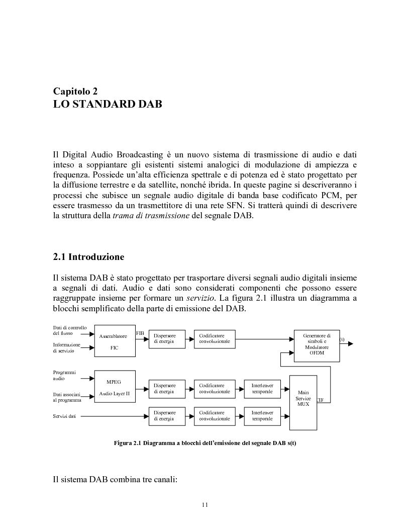 Anteprima della tesi: Sistemi DAB/DVB-T, Pagina 7