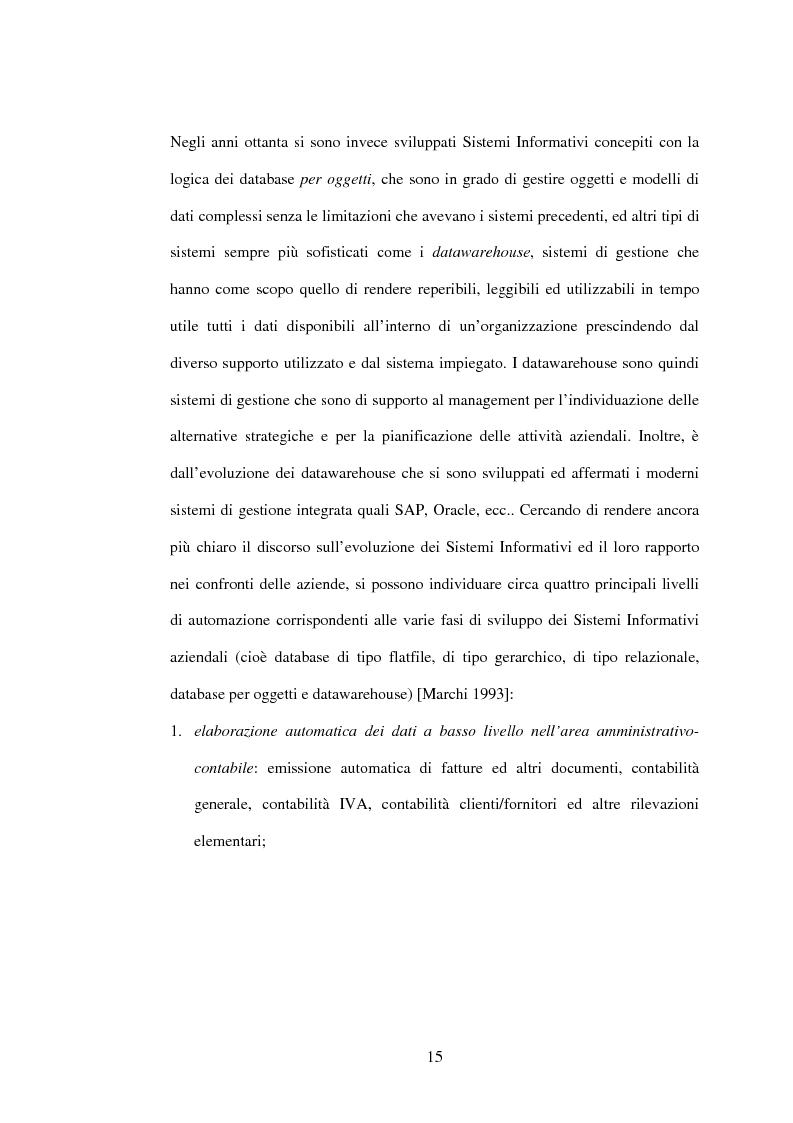 Anteprima della tesi: I sistemi gestionali integrati, con particolare riferimento a SAP R/3, Pagina 11