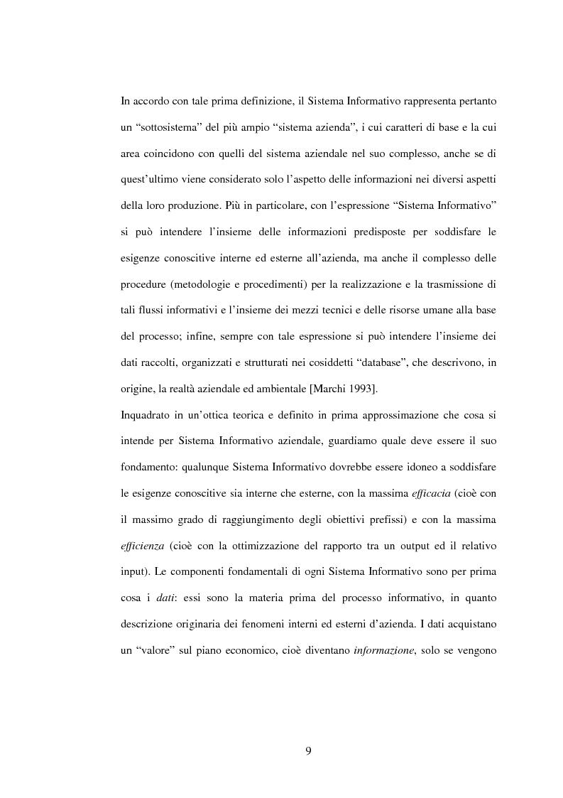 Anteprima della tesi: I sistemi gestionali integrati, con particolare riferimento a SAP R/3, Pagina 5