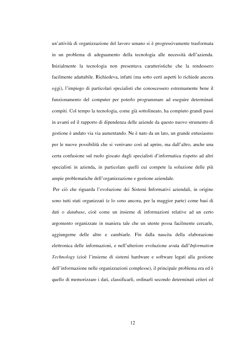 Anteprima della tesi: I sistemi gestionali integrati, con particolare riferimento a SAP R/3, Pagina 8