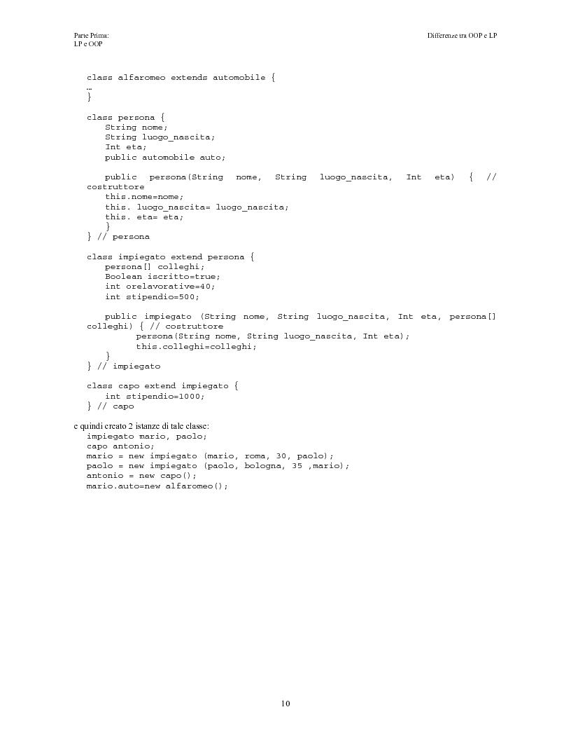 Anteprima della tesi: Elaborazione e interazione in programmazione logica e ad oggetti, Pagina 8