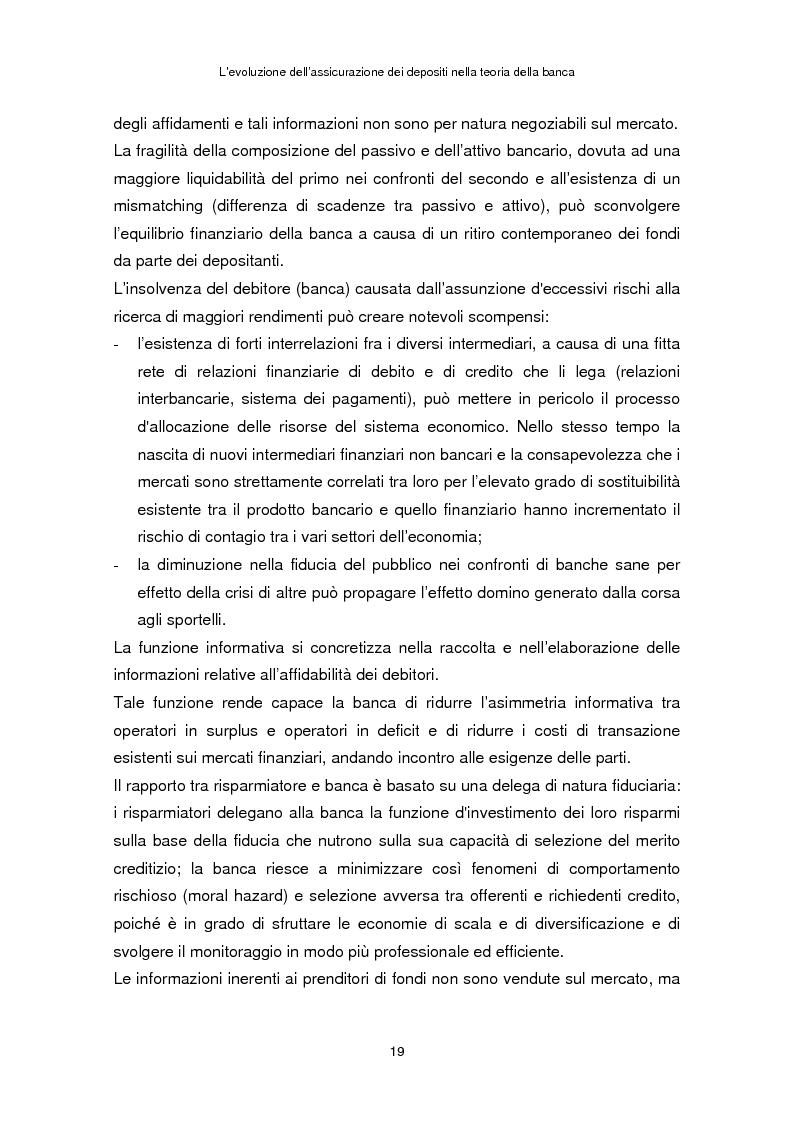 Anteprima della tesi: La determinazione del premio dell'assicurazione dei depositi attraverso l'option pricing: un'applicazione al caso italiano, Pagina 15