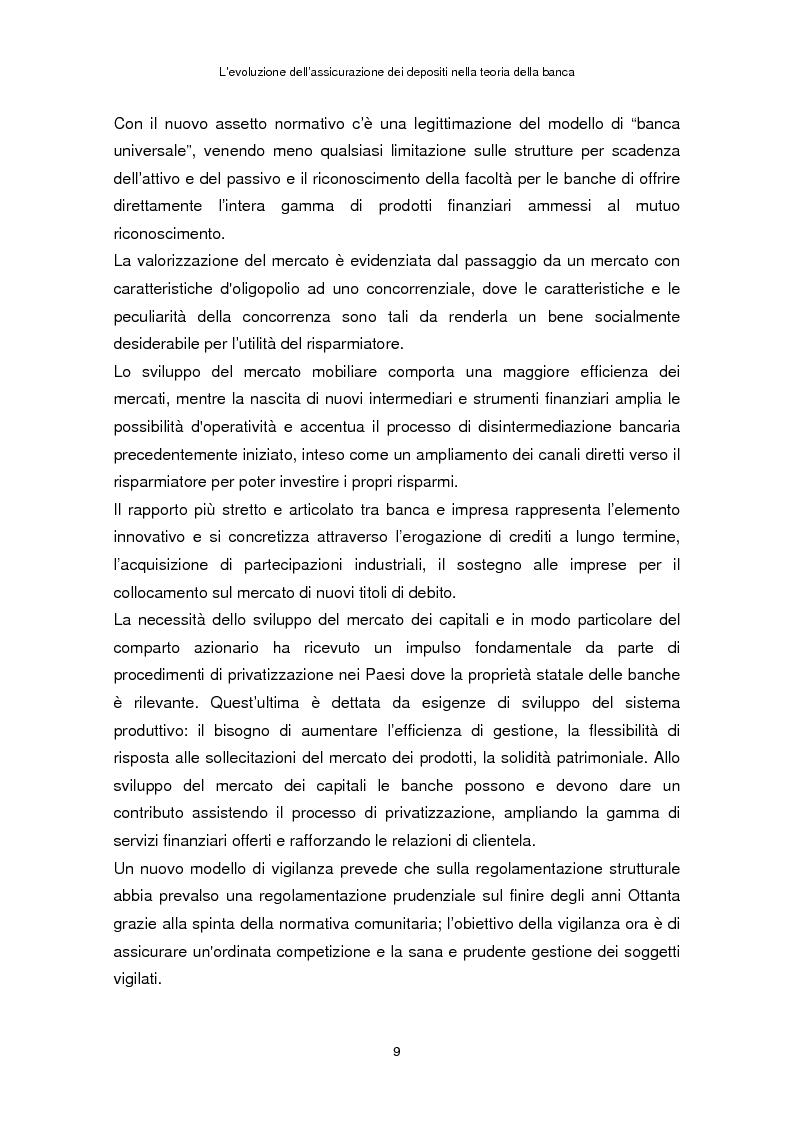Anteprima della tesi: La determinazione del premio dell'assicurazione dei depositi attraverso l'option pricing: un'applicazione al caso italiano, Pagina 5