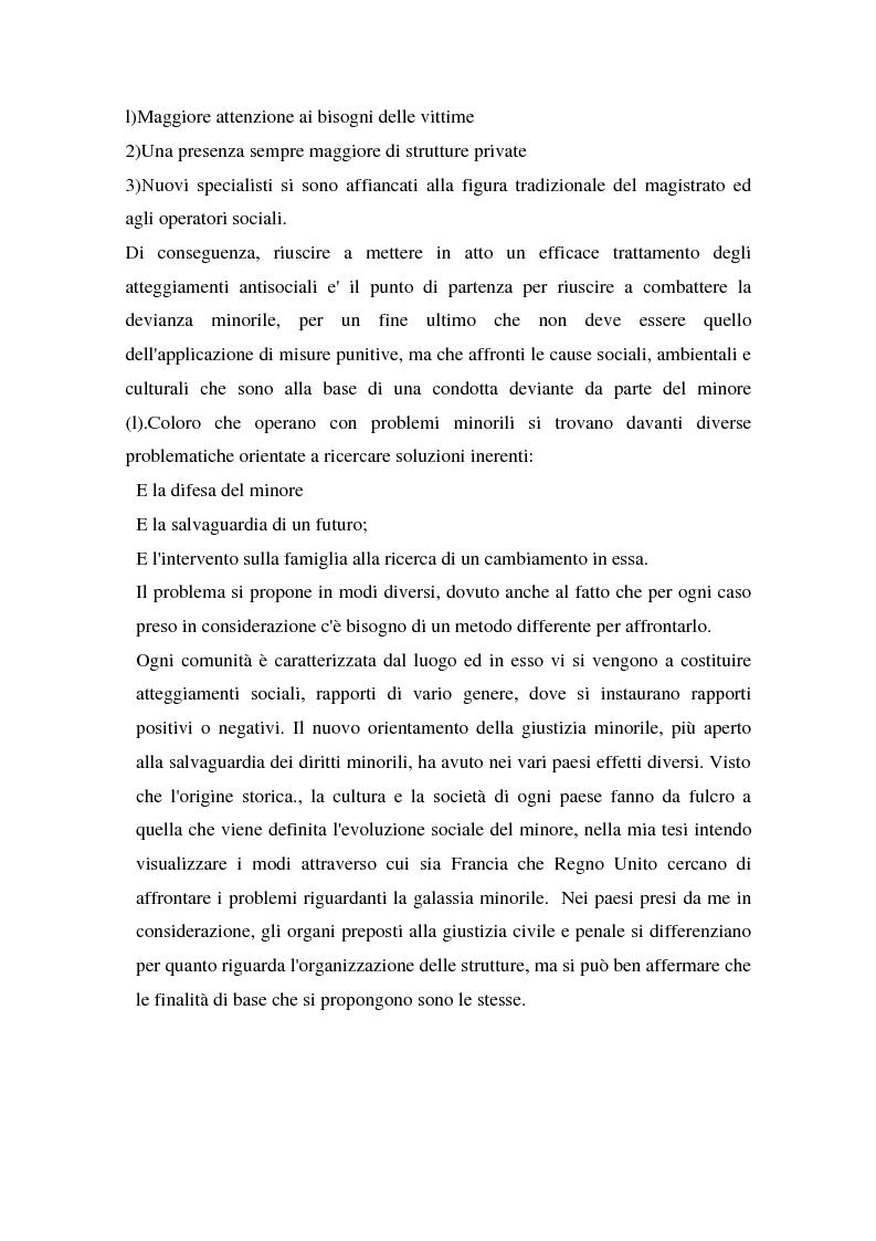 Anteprima della tesi: L'operatore sociale nella giustizia minorile, Pagina 2