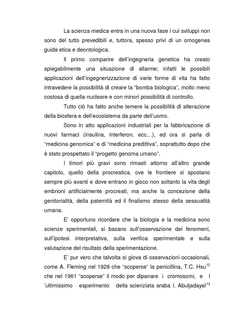 Anteprima della tesi: I nuovi confini delle biotecnologie nella prospettiva filosofica, Pagina 13