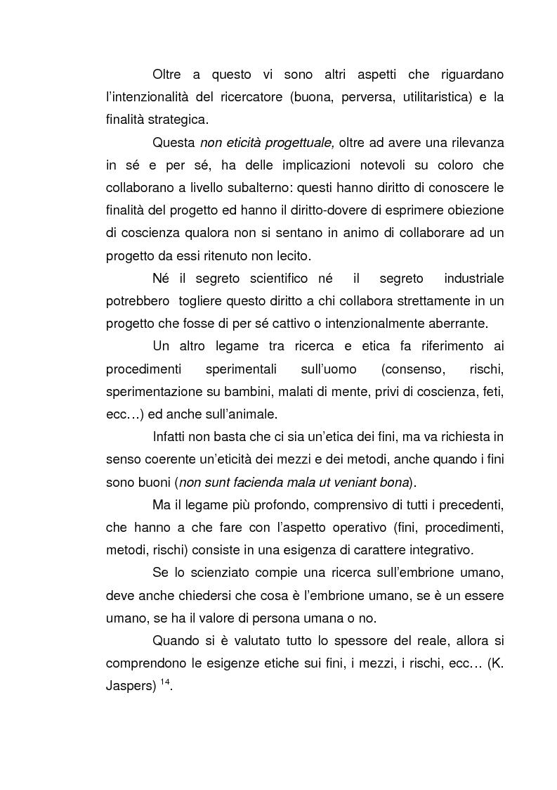 Anteprima della tesi: I nuovi confini delle biotecnologie nella prospettiva filosofica, Pagina 15