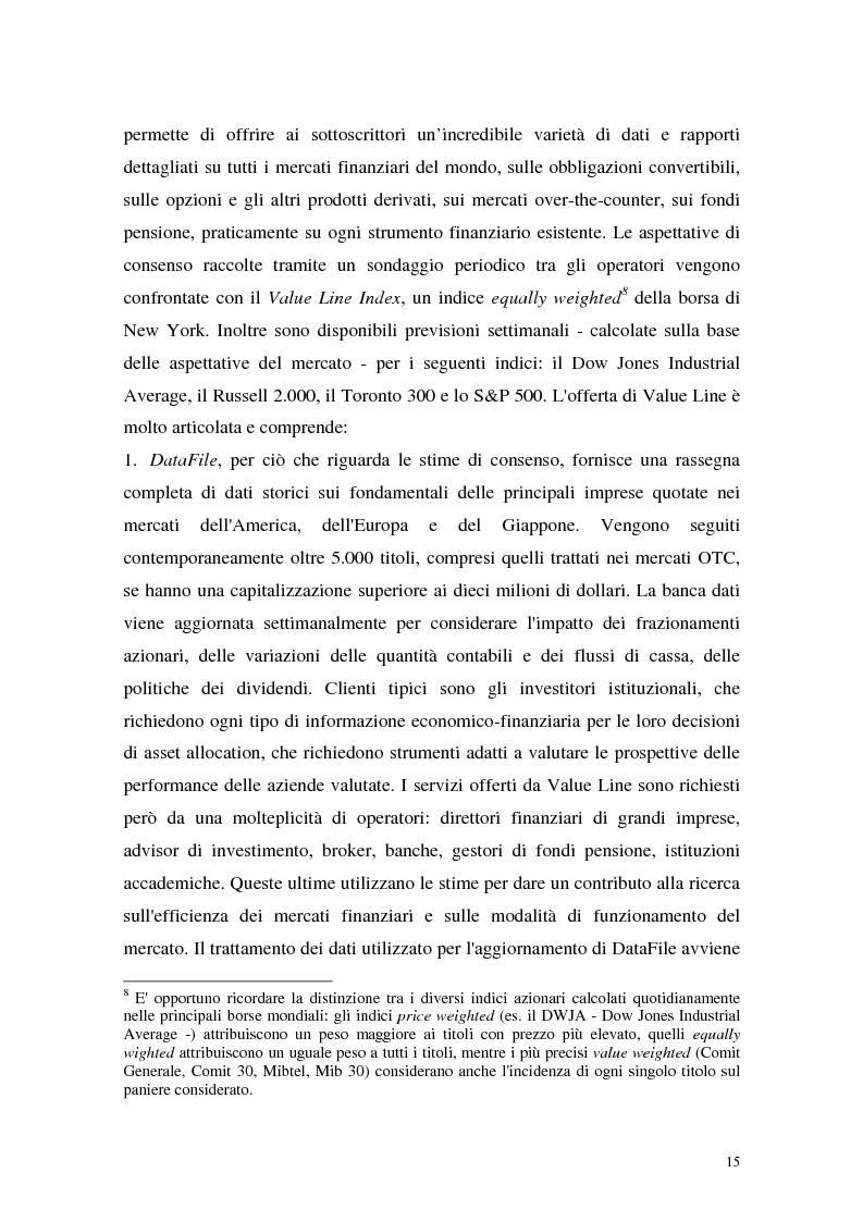 Anteprima della tesi: Utili di consenso: metodologie di formazione e criteri di utilizzo, Pagina 10