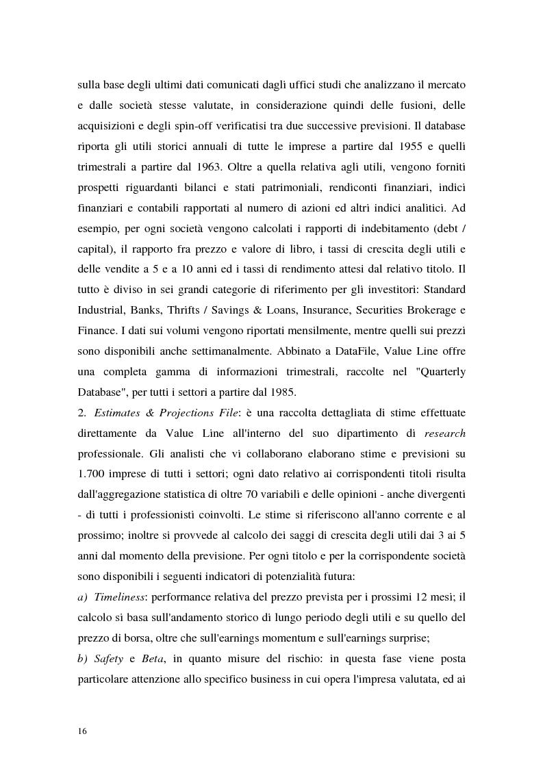 Anteprima della tesi: Utili di consenso: metodologie di formazione e criteri di utilizzo, Pagina 11