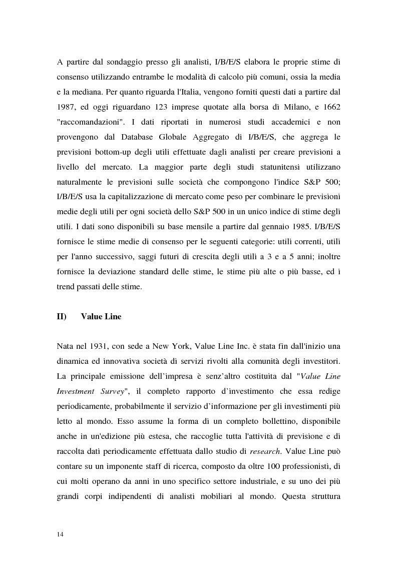 Anteprima della tesi: Utili di consenso: metodologie di formazione e criteri di utilizzo, Pagina 9