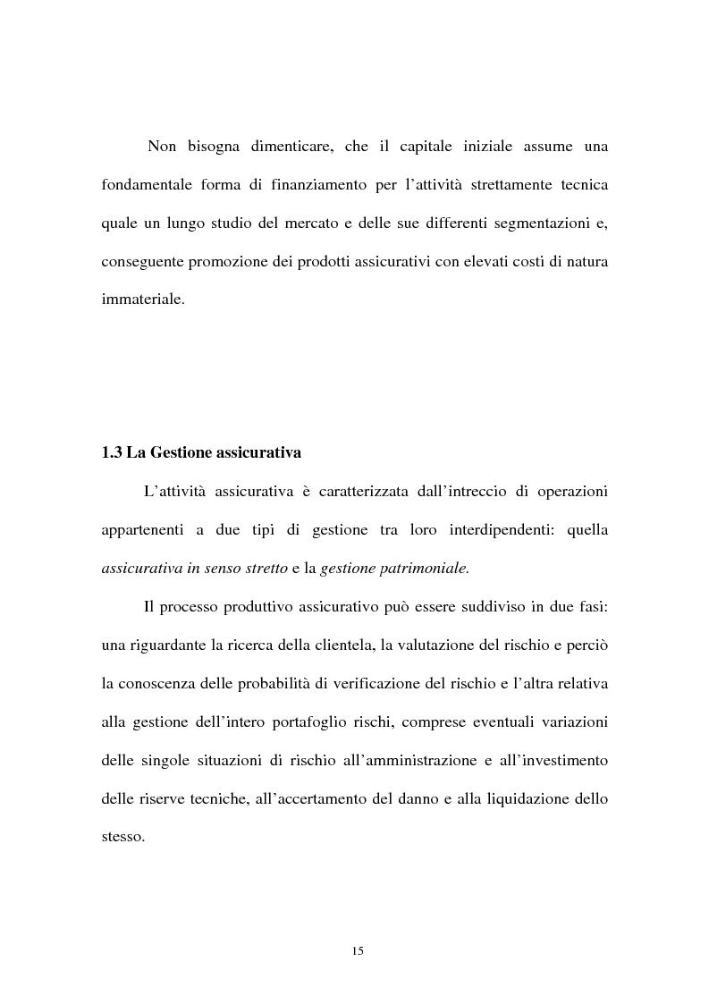 Anteprima della tesi: I sistemi organizzativi delle imprese di assicurazione. L'Aurora Assicurazioni S.p.A., Pagina 11