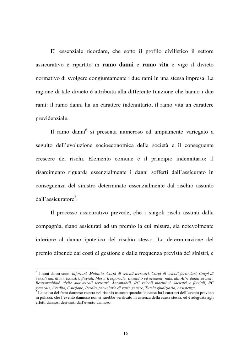 Anteprima della tesi: I sistemi organizzativi delle imprese di assicurazione. L'Aurora Assicurazioni S.p.A., Pagina 12