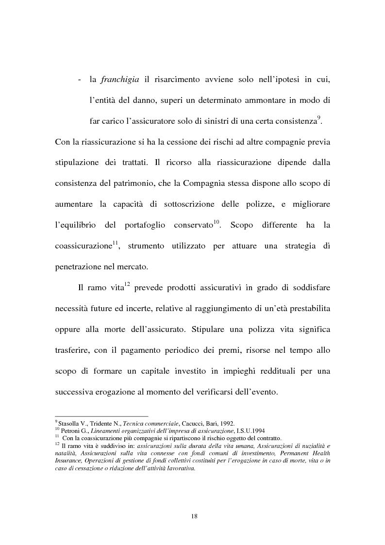Anteprima della tesi: I sistemi organizzativi delle imprese di assicurazione. L'Aurora Assicurazioni S.p.A., Pagina 14