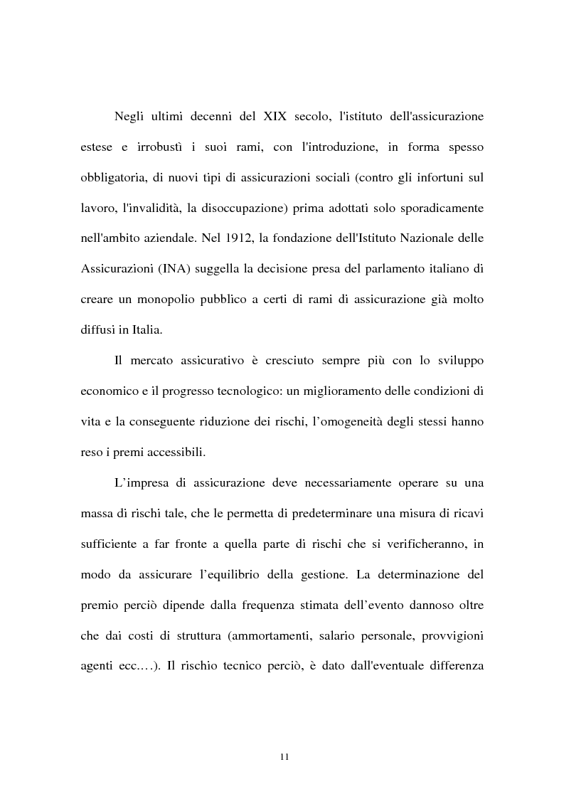 Anteprima della tesi: I sistemi organizzativi delle imprese di assicurazione. L'Aurora Assicurazioni S.p.A., Pagina 7