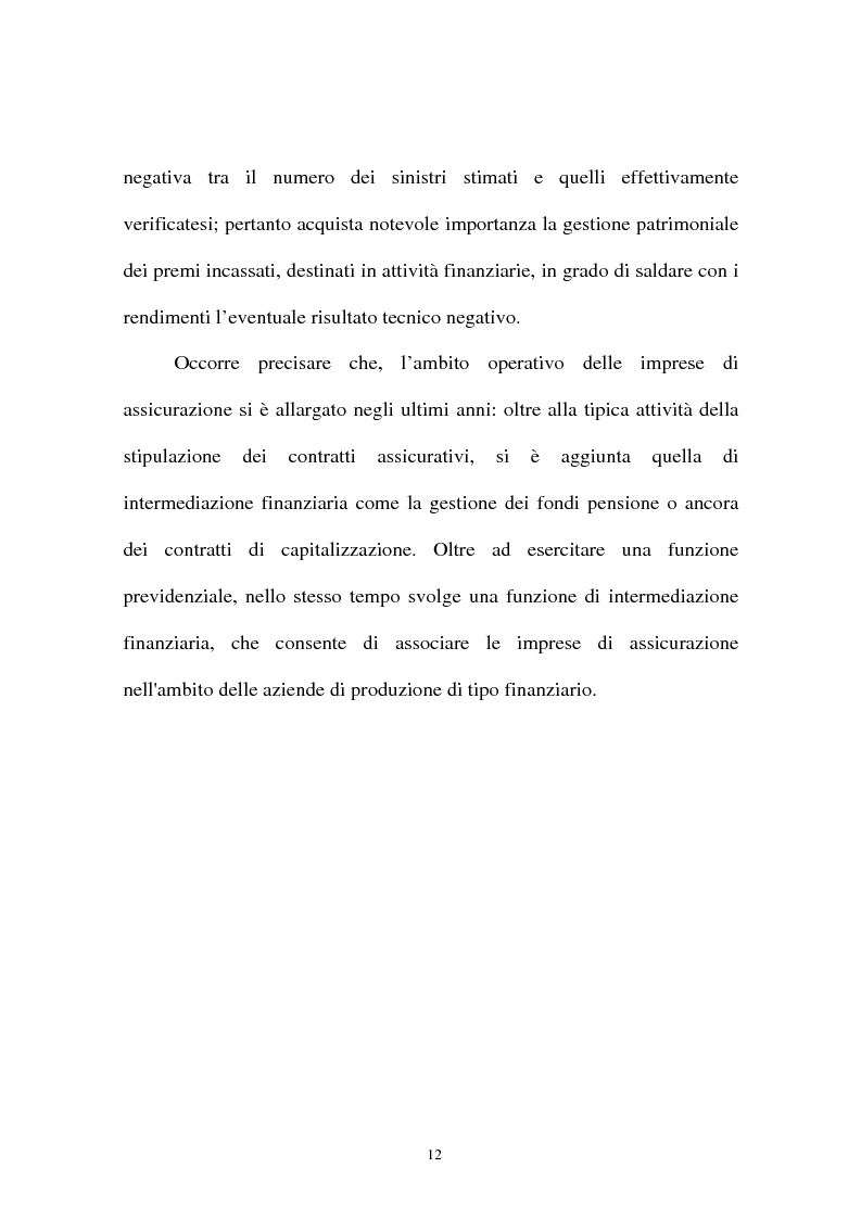 Anteprima della tesi: I sistemi organizzativi delle imprese di assicurazione. L'Aurora Assicurazioni S.p.A., Pagina 8