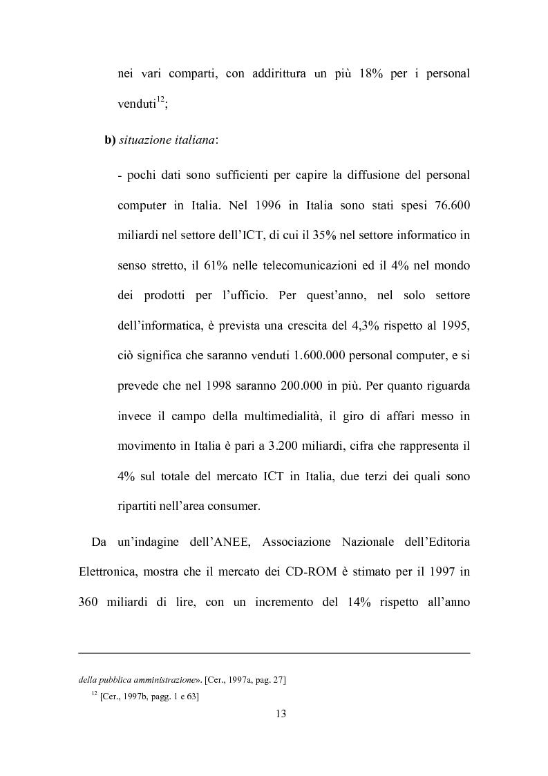 Anteprima della tesi: Computer, insegnamento, scuola: esperienze e prospettive, Pagina 10
