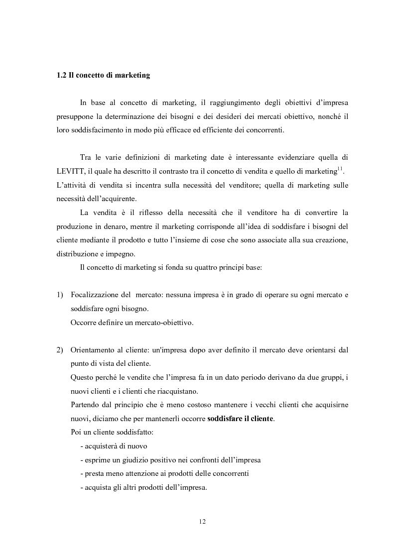 Anteprima della tesi: Il marketing mix e le sue applicazioni in aziende che operano nel settore moda, Pagina 12