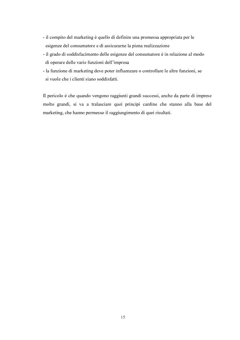 Anteprima della tesi: Il marketing mix e le sue applicazioni in aziende che operano nel settore moda, Pagina 15
