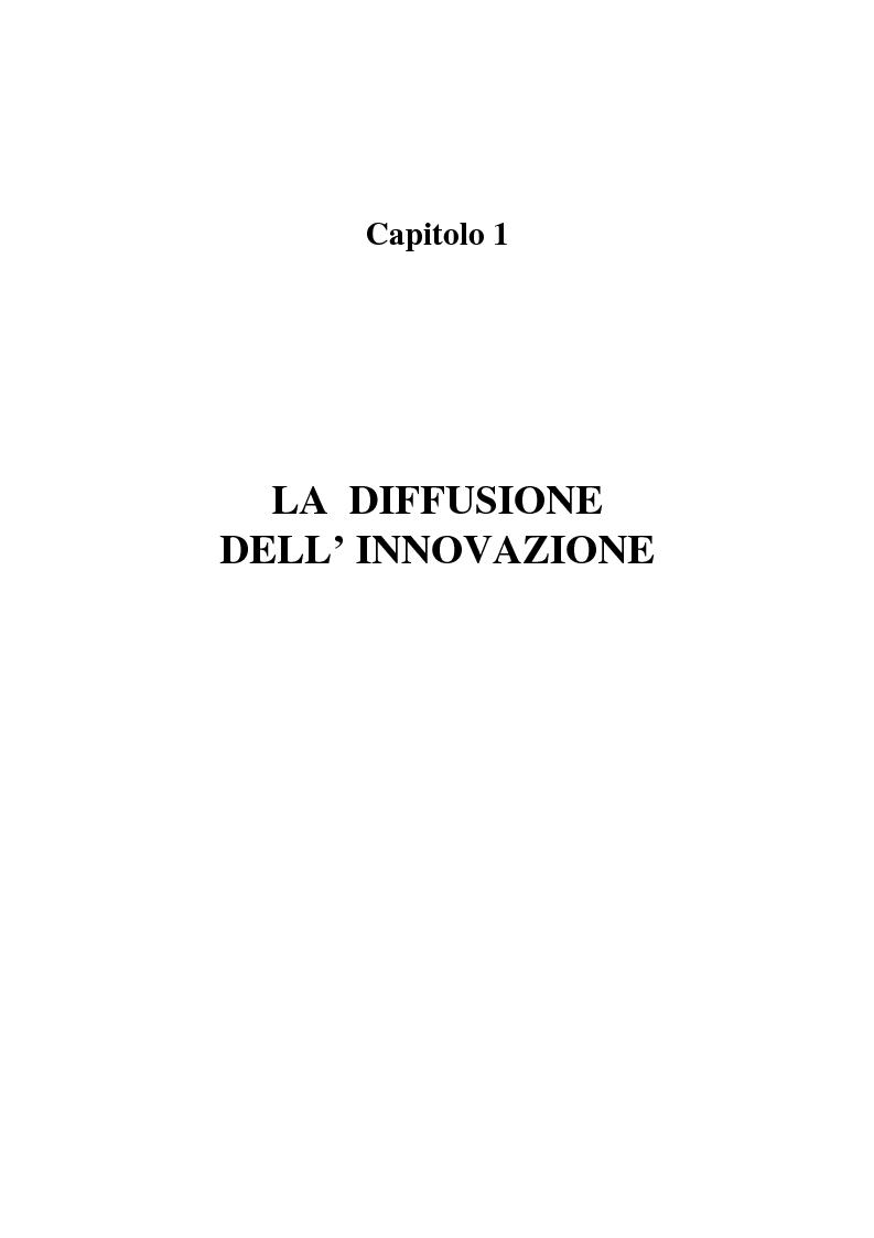 Anteprima della tesi: La diffusione dei nuovi mezzi di comunicazione nella media industria italiana, Pagina 3