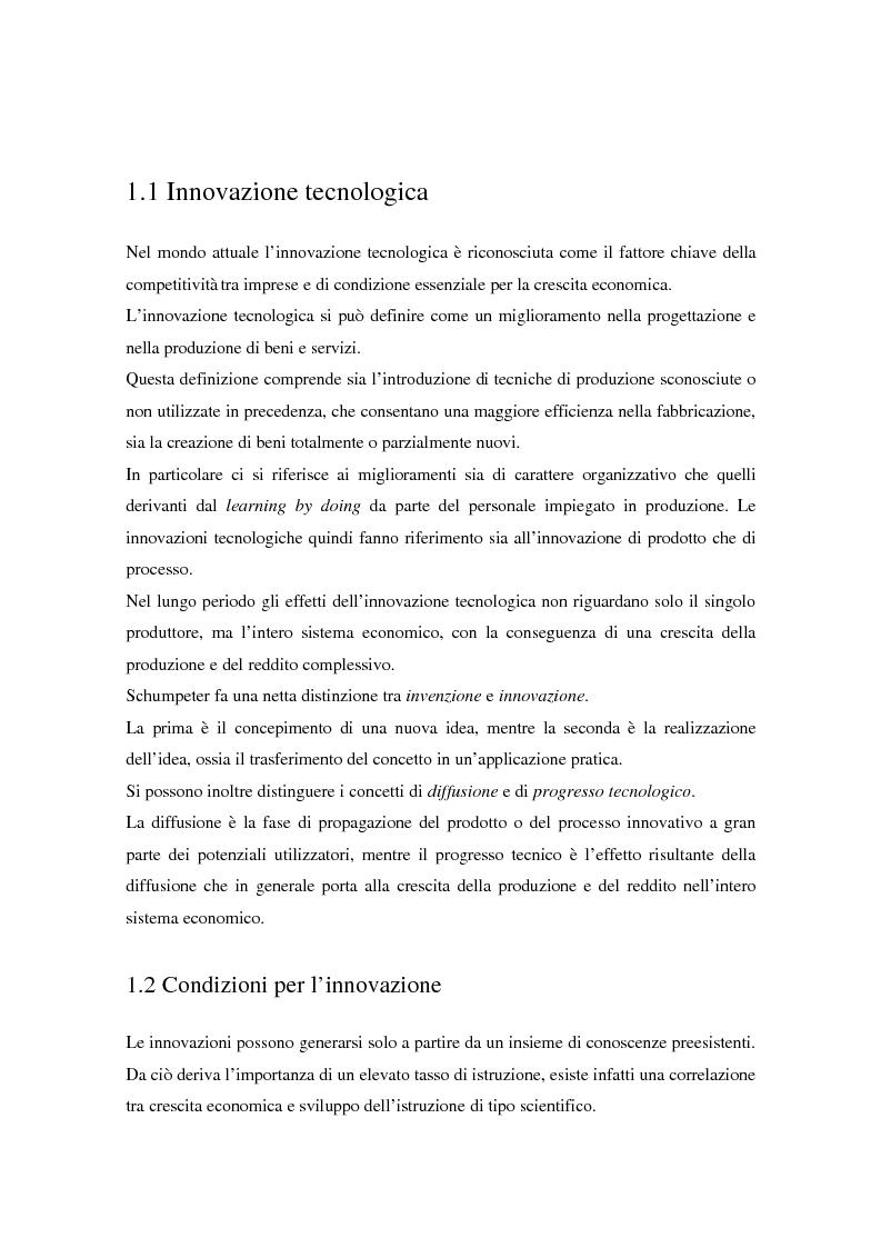 Anteprima della tesi: La diffusione dei nuovi mezzi di comunicazione nella media industria italiana, Pagina 4