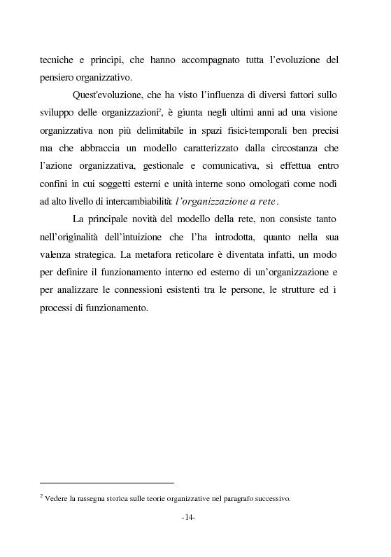 Anteprima della tesi: Le nuove vie del Giubileo. Il ruolo delle reti nell'agenzia romana, Pagina 10