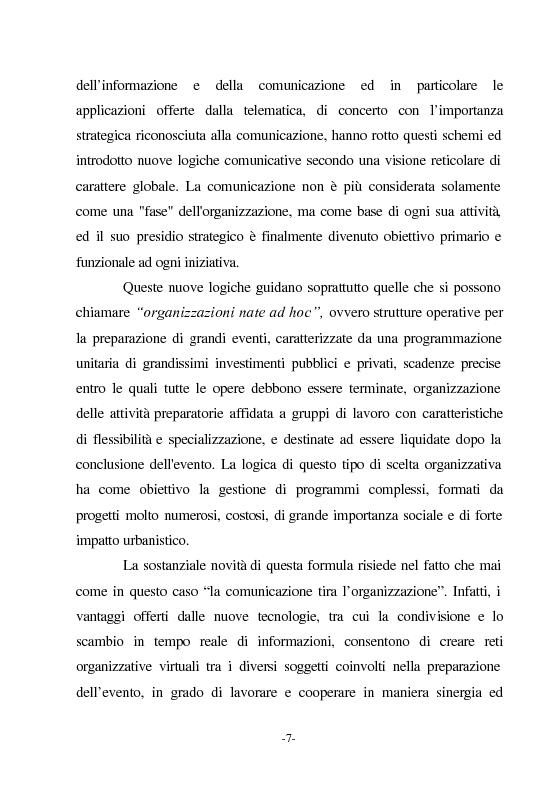 Anteprima della tesi: Le nuove vie del Giubileo. Il ruolo delle reti nell'agenzia romana, Pagina 3
