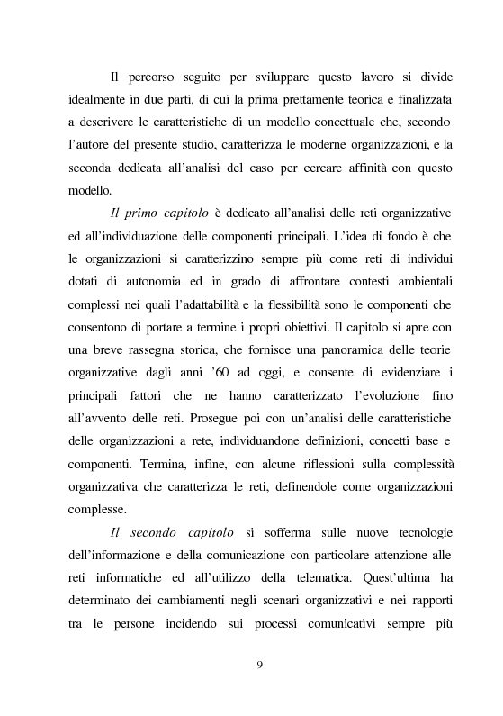 Anteprima della tesi: Le nuove vie del Giubileo. Il ruolo delle reti nell'agenzia romana, Pagina 5
