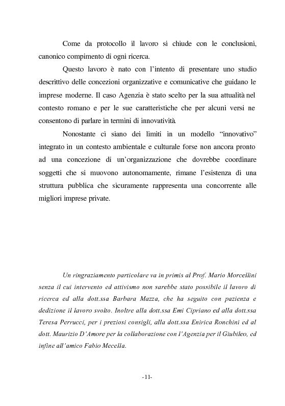 Anteprima della tesi: Le nuove vie del Giubileo. Il ruolo delle reti nell'agenzia romana, Pagina 7