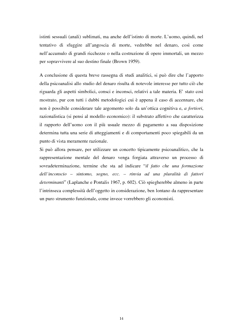 Anteprima della tesi: L'euro: aspetti psicosociali dell'introduzione della moneta unica europea, Pagina 11