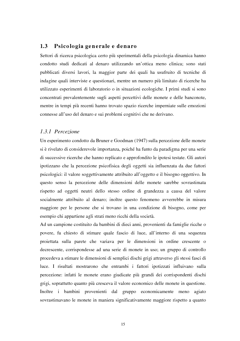 Anteprima della tesi: L'euro: aspetti psicosociali dell'introduzione della moneta unica europea, Pagina 12