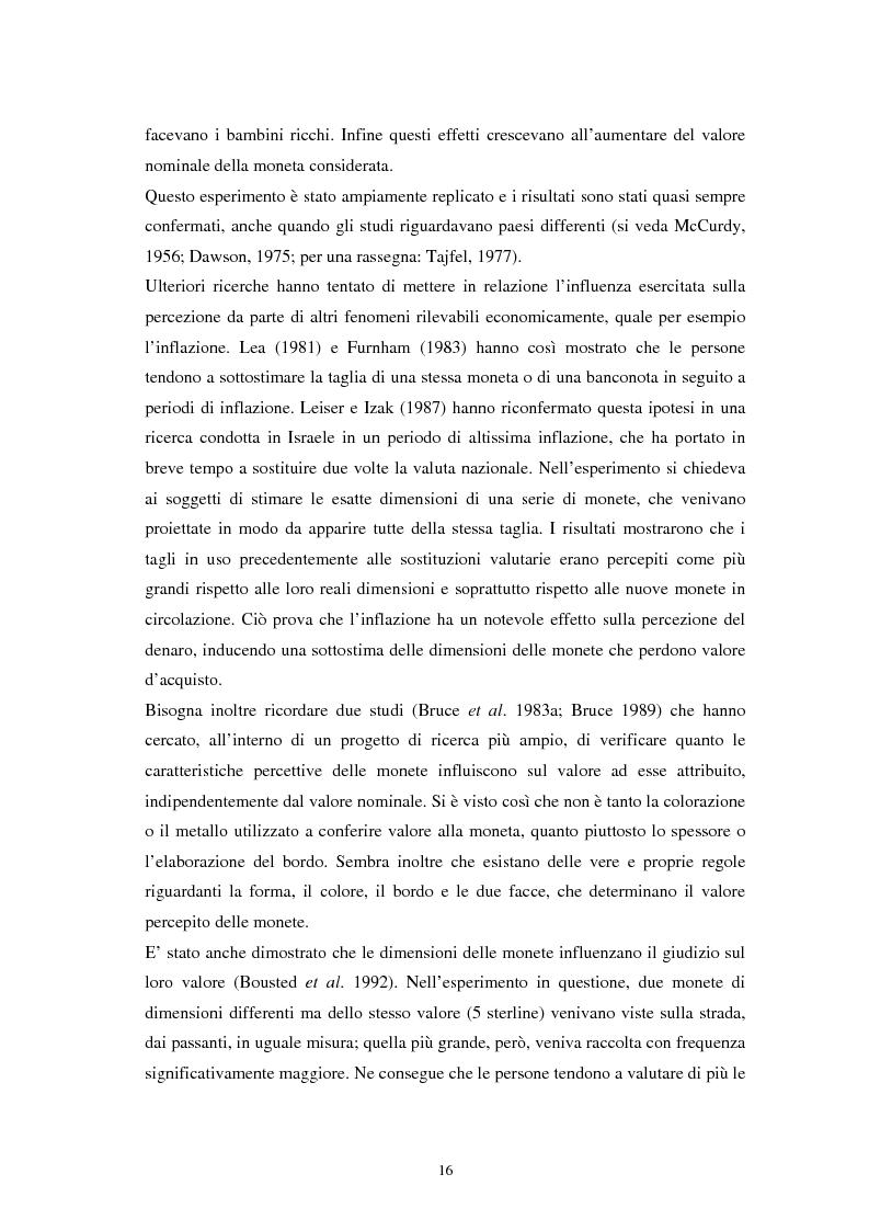 Anteprima della tesi: L'euro: aspetti psicosociali dell'introduzione della moneta unica europea, Pagina 13