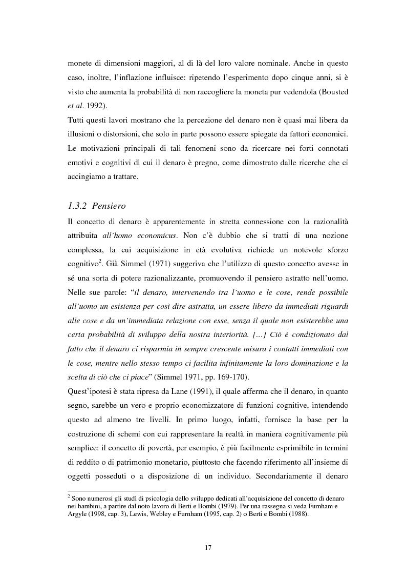 Anteprima della tesi: L'euro: aspetti psicosociali dell'introduzione della moneta unica europea, Pagina 14