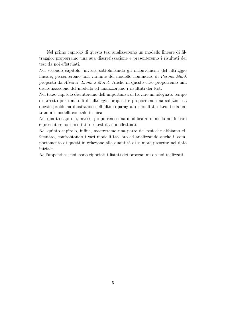 Anteprima della tesi: Metodi di controllo ottimo attivo nella elaborazione adattativa di immagine, Pagina 3