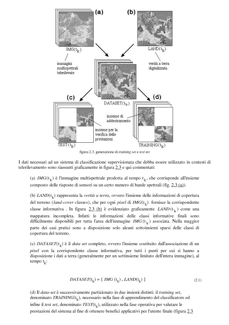 Anteprima della tesi: La classificazione di immagini telerilevate mediante reti neurali fuzzy Artmap: tecniche di apprendimento incrementale, Pagina 9
