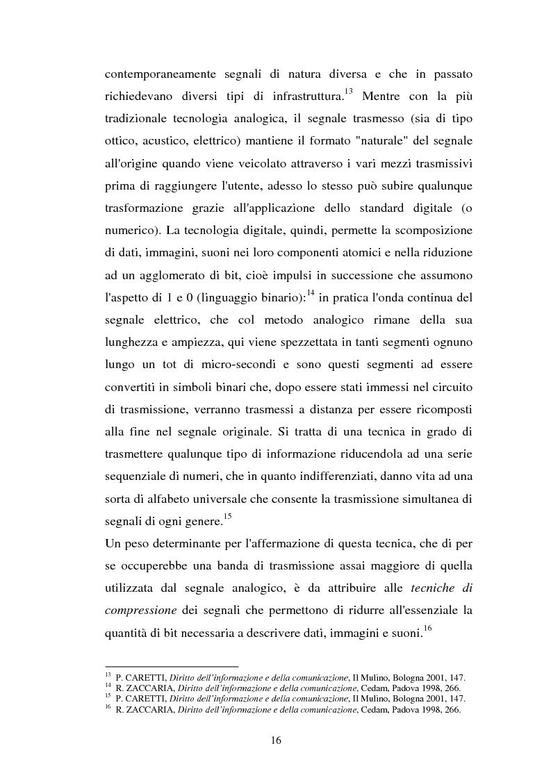 Anteprima della tesi: La libertà di informazione ed altre problematiche connesse alla telefonia mobile di terza generazione, Pagina 10