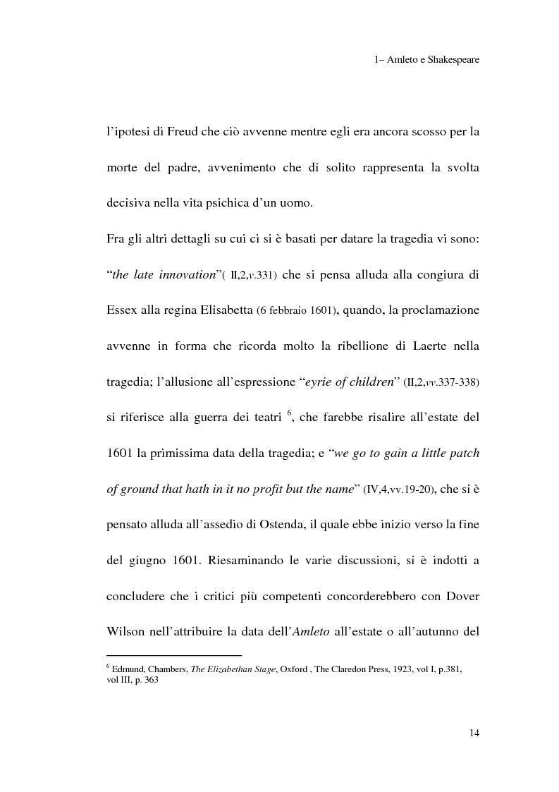 Anteprima della tesi: Amleto: so tell him the rest is silence, Pagina 12