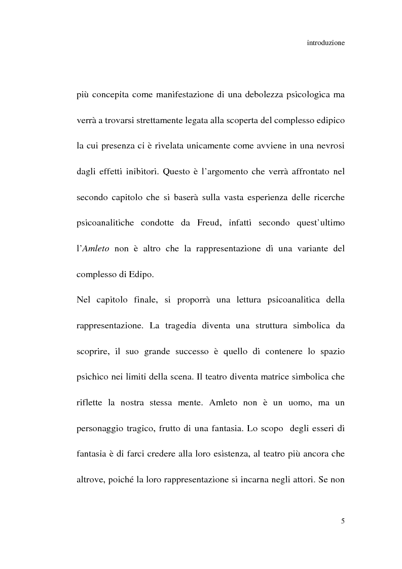Anteprima della tesi: Amleto: so tell him the rest is silence, Pagina 4