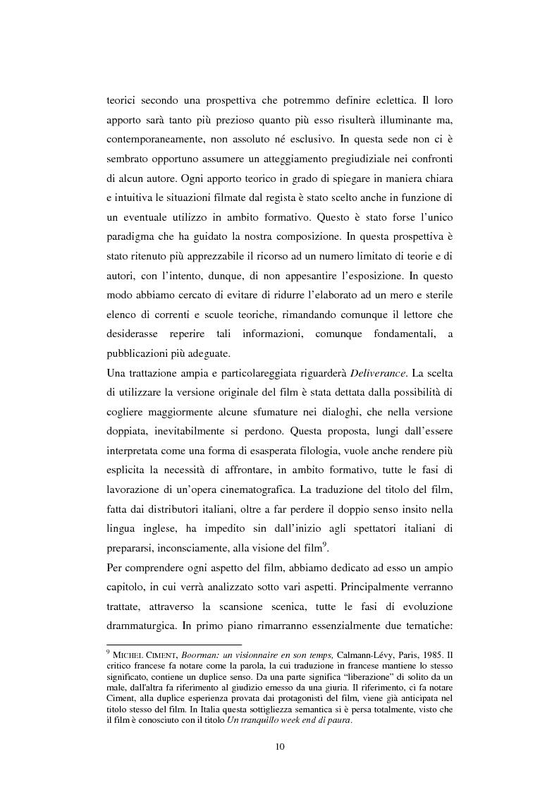 Anteprima della tesi: Formazione alla teamleadership: analisi delle dinamiche di gruppo nel film Deliverance di John Boorman, Pagina 9