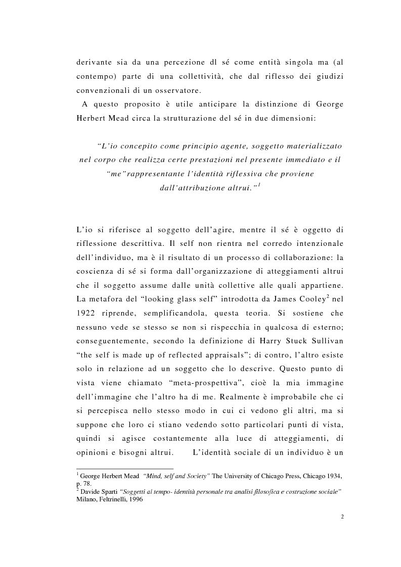 Anteprima della tesi: Englishness e italianità nei discorsi giornalistici: Tim Parks, Jeremy Paxman, Beppe Severgnini, Pagina 2