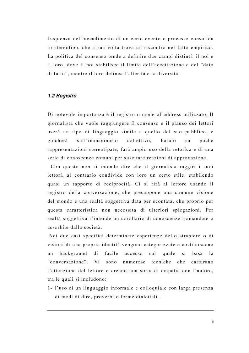 Anteprima della tesi: Englishness e italianità nei discorsi giornalistici: Tim Parks, Jeremy Paxman, Beppe Severgnini, Pagina 6