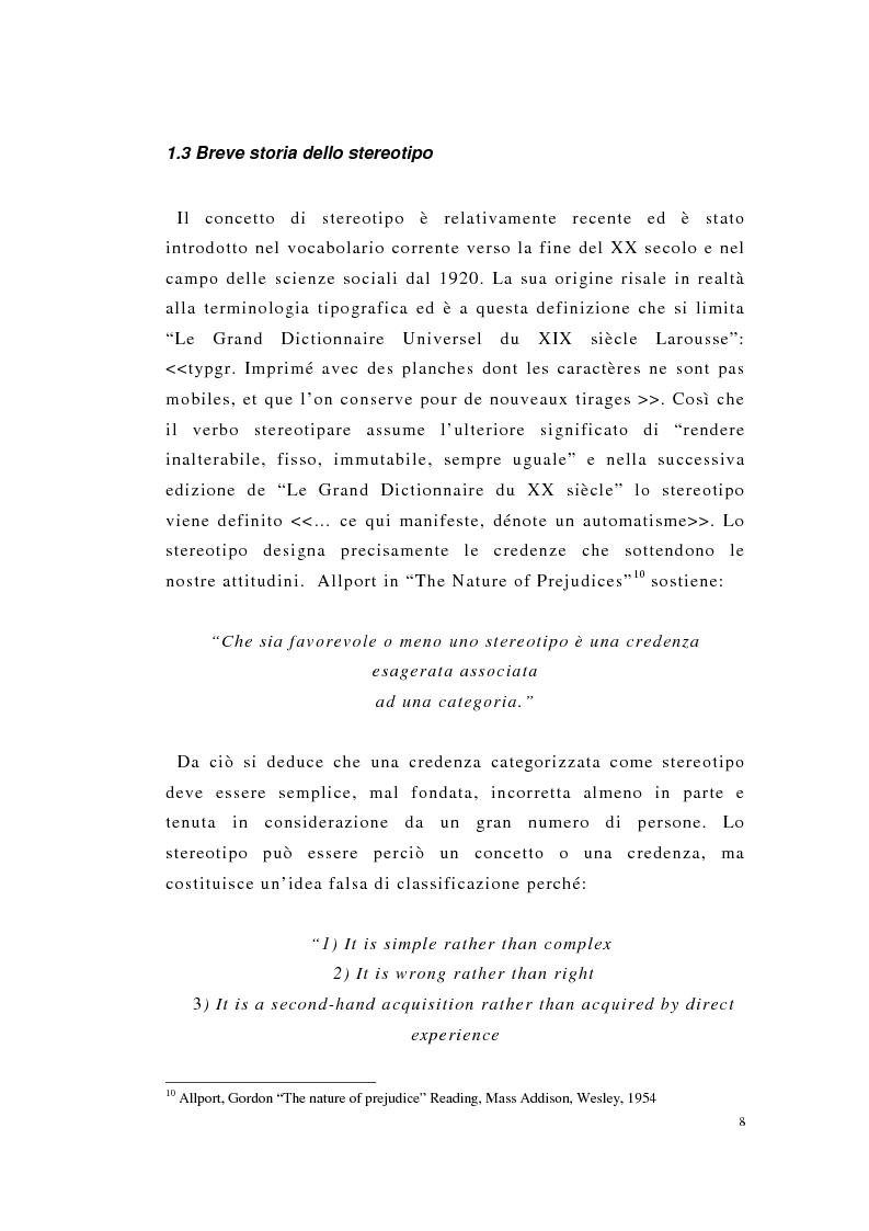Anteprima della tesi: Englishness e italianità nei discorsi giornalistici: Tim Parks, Jeremy Paxman, Beppe Severgnini, Pagina 8